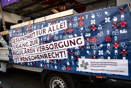 We'll come united - Demonstration/Parade Hamburg 29.09.2018