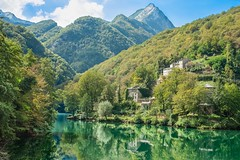 Ghosttown Isola Santa (LB-fotos) Tags: apuanalps ghosttown italy nature water tuscany abandoned mountains landscape