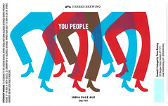 YOU PEOPLE by YARD for Threes Brewing (Label_Craft) Tags: beer beers craftbeer brew suds ale labels craft labelcraft beerlabel design illustration type fonts burp beerme brewery threes threesbrewing ipa american americanipa dipa gowanus brooklyn nyc
