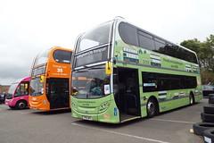 DSCF6543 (Steve Guess) Tags: donington park england gb uk nottingham history bus enviro 400 alexander dennis