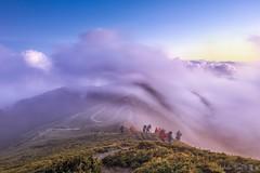Hehuan Mt. ~合歡山主峰 雲浪 (Estrella Chuang 心星) Tags: 心星 合歡山 雲海 雲浪 estrella clouds mountain