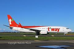 B737-8AS EI-ESM (HL8326) T'WAY (shanairpic) Tags: jetairliner passengerjet b737 boeing737 shannon irish ryanair iac eirtech tway eiesm hl8326