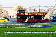 Unvi Urbis (Slobodan Kostić) Tags: budapest bus lowfloor diesel hungary opnv public transport tourist sightseeing doubledecker unvi urbis iveco szechenyilanchid