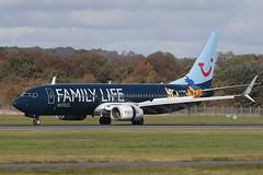 Boeing 737-8K5 G-FDZG TUI Airways (Mark McEwan) Tags: boeing boeing737 b737 boeing7378k5 gfdzg tuiairways tui edi edinburghairport edinburgh aviation aircraft airplane