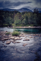 GoingHome (torivonglory) Tags: lesja oppland norwegen no norway drive car nature landscape scandinavia rock mountain clouds water stream fjord river summer travel blue green inexplore explore