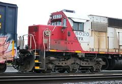 CEFX 6020, Nose, Close, Harrison, Neenah, 20 Sept 18 (kkaf) Tags: neenah cefx soo sd60 leaser harrison a446