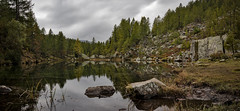 Witches Lake (Dario654321) Tags: autumn lake lago italy italia verbania devero alpe streghe witches colors long exposure filter montagne mountains water reflections