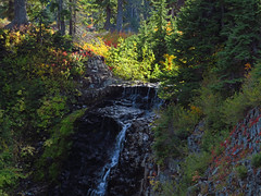 Waterfall at Artist Point in WA (Landscapes in The West) Tags: artistpoint northcascadesnationalpark washington pacificnorthwest landscape west waterfall mount bakersnoqualmie national forest
