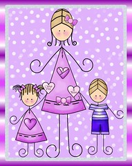 Family Graphics (The Graphics Shoppe) Tags: mom wahm family kids children love mother mommy clipart graphics scrapbooking
