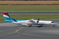 Luxair LX-LGF De Havilland Canada DHC-8-402Q Dash 8 cn/4349 @ LOWW / VIE 21-06-2018 (Nabil Molinari Photography) Tags: luxair lxlgf de havilland canada dhc8402q dash 8 cn4349 loww vie 21062018
