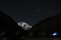 Cielo estrellado, Apu Salkantay, Peru (Sandra Nistal) Tags: paisaje naturaleza nature landscape salkantay apu perú noche estrellas stars night