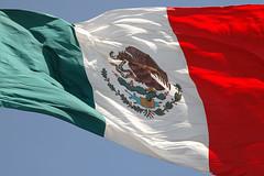Zócalo (groovysam) Tags: bandera méxico mexico verde blanco rojo