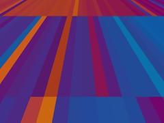 661 (MichaelTimmons) Tags: art digitalart abstract orange blue purple lines stripes colors colours color colour