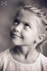 Portrait: bright soul (renkata23) Tags: nikon brighteyes smileyface smile littlegirl girl blackandwhite portrait