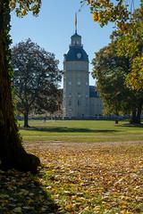 Turm Im Herbst (KaAuenwasser83) Tags: turm herbst schloss karlsruhe schlossgarten