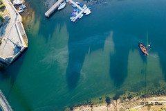 DJI_0025 (gael.lebrun56) Tags: bridge brittany bretagne pont suspendu sea mer marée drone