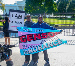 2018.10.22 We Won't Be Erased - Rally for Trans Rights, Washington, DC USA 06862