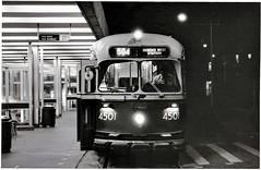 TTC - PCC 4501 - Broadview Subway Station - Toronto (themats1) Tags: pcc pcccar ttc streetcar broadviewsubwaystation