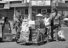Working Hard (Beegee49) Tags: street children tricycle cardboard collecting waste bacolod city philippines