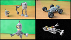 A couple of references to the show (hachiroku24) Tags: lego bender moc futurama figure robot instructions