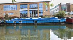 Converted Freighter (eibonvale) Tags: london regentscanal islington boat canal waterway