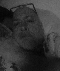 Day 2415: Day 225: Grainy (knoopie) Tags: 2018 august iphone picturemail blackwhite bw doug knoop knoopie me selfportrait 365days 365daysyear7 year7 365more day2415 day225