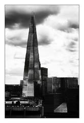 The Shard (Jean-Louis DUMAS) Tags: architecture architecte architectural london londres bw nb blackandwhite noiretblanc noir blacl monochrome tour tower building