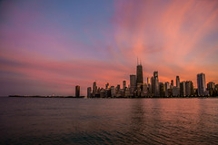 🍬 Chicago Cotton Candy Skyline Sunset (Joshua Mellin) Tags: city chicago lakemichigan skyline chicagoskyline joshuamellin writer blogger photographer photog journalist travel influencer instragram verified twitter social media socialmedia joshmellin live pink cloud lake water sunset trumptower johnhancockcenter johnhancocktower johnhancock tower building buildings searstower willistower beach northavenue northavenuebeach light navypier blue reflection night evening best iconic tourism pic picture pictures pics prints photo photos image images glowing glow rise set joshua mellin candy cotton cottoncandy colors color bright ad huge high quality large windy