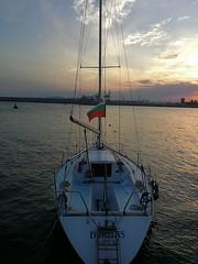 IMG_20180803_200002 (SugarStar88) Tags: boat sunset blacksea bulgaria portburgas
