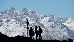 Davos (m_laRs_k) Tags: suppenzoom superzoom 14150 parsenn silhouette alps landscape olympus omd europe switzerland davos