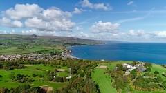 Cairndhu Golf Club (Tartan Eyes) Tags: ballygally irishsea coast drone phantom4proobsidian dji golf northernireland countyantrim larne cairndhugolfclub