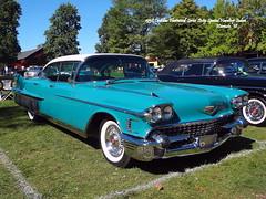 1958 Cadillac Fleetwood Series Sixty Special Hardtop Sedan (JCarnutz) Tags: 1958 cadillac fleetwood series60 cadillaclasallefallfestival gilmorecarmuseum