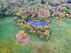 Aerial - Fall on the way (-SOLO--) Tags: dji drone granbyct granbylandtrust maryedwardsmountainproperty spark