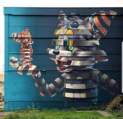 Tom and Jerry (Meme Genie) Tags: art awesome graffiti painting photography