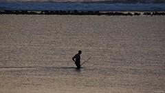 IMGP0414 Going fishing (Claudio e Lucia Images around the world) Tags: matemwe zanzibar tanzania sunrise sunset sea ocean water fisherman boat reef waves pentax pentaxart earlymorning pentaxk3ii sigma sigma50500 bigma fishing