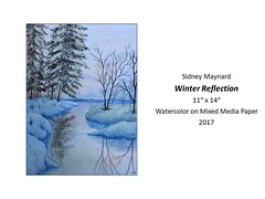 """Winter Reflection • <a style=""""font-size:0.8em;"""" href=""""https://www.flickr.com/photos/124378531@N04/30426359607/"""" target=""""_blank"""">View on Flickr</a>"""