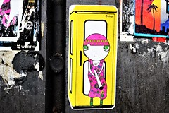 Paste-Up (zoe sarim) Tags: germany hamburg streetart pasteup joiny