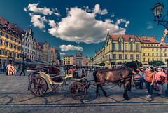 Wroclaw (Vagelis Pikoulas) Tags: europe poland wroclaw square old town people colors buildings architecture canon 6d tokina 1628mm may spring 2018 travel holidays urban city cityscape landscape