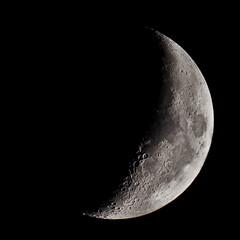 Moon (Elisabeth Lys) Tags: tuesday moon square nikon d7200 sigma 150600mm