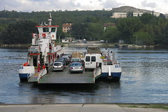 Ferry in Beloslav (lyura183) Tags: bulgaria българия beloslav белослав ferry boat car lake canal water