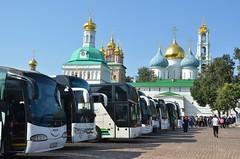 La rançon du succès (RarOiseau) Tags: moscou russie serguievpossad monastère édificereligieux