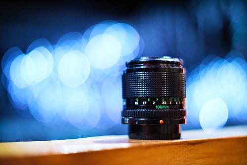 Canon FDn 100mm F2.8