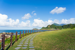 基隆 / 八斗子 (Chester photography .) Tags: blue sky beach nice best view cloud green sea 山 mountain taiwan keelung 台灣 基隆 海 藍天 海邊 travel trip