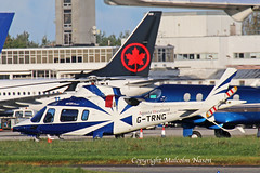 AGUSTA A109E G-TRNG G.WALTERS LEASING (shanairpic) Tags: helicopter agustaa109 shannon gtrng