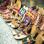 Typical handmade Guatemalan sandals thumbnail