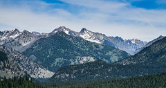 The great outdoors (maytag97) Tags: maytag97 nikon d750 tamron 150600 150 600 sawtooth rocky range summer rugged wilderness forest nature natural idaho sky tree mountain mountainside landscape snow