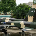 Fighter Jet in front of the War Remnants Museum in Saigon thumbnail