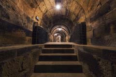 Entrada al calado (explore) (Rafael Díez) Tags: españa larioja torremontalbo bodega rafaeldíez arquitectura premio luces