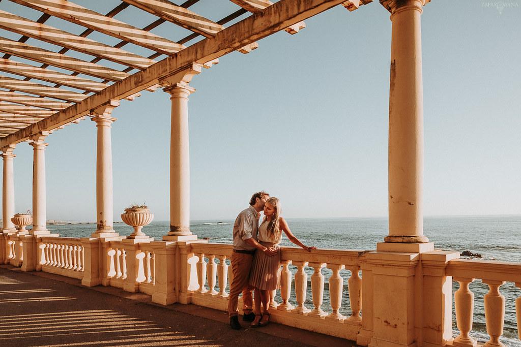 001 - ZAPAROWANA - Sesja dla zakochanych za granicą Porto Portugalia