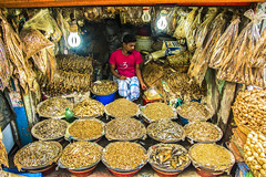 The shop of dried sea fish (Aranya Ehsan) Tags: life lifestyle color street dhaka bangladesh 2018 travel shop shopkeeper ehsanul siddiq aranya